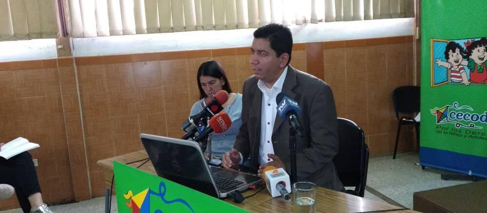 Informe identidad niños en venezuela