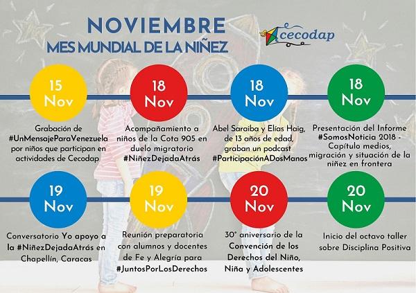 convención niñez noviembre