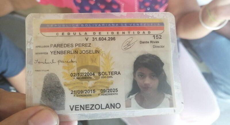 Yenberlin tiene 14 años