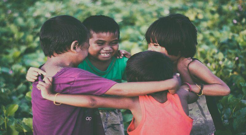 niñez niños risas