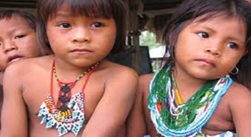 niños indígenas