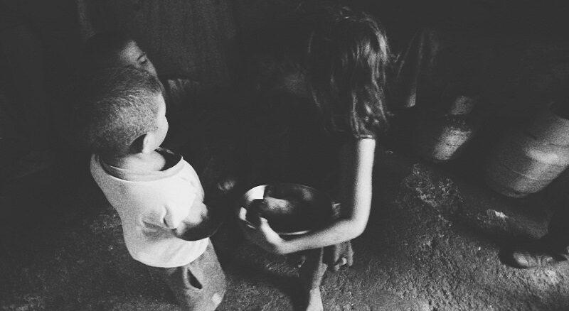 hambre desnutrición niños vulnerables