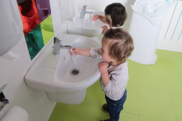 rutinas habito de higiene lavarse las manos cecodap