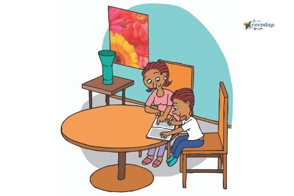 productivos casa estudiar niño